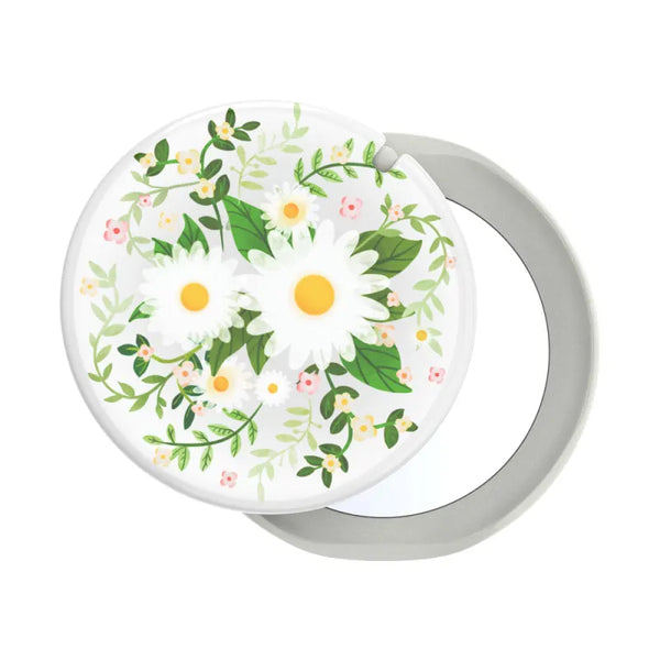 Buy new popgrip floral design comes with mirror more fashionable and stylish from POPSOCKETS.