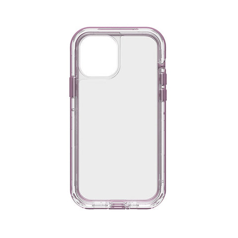 Clear purple case from lifeproof australia for iphone 12 and iphone 12 pro max. Great clear and strong drop protection