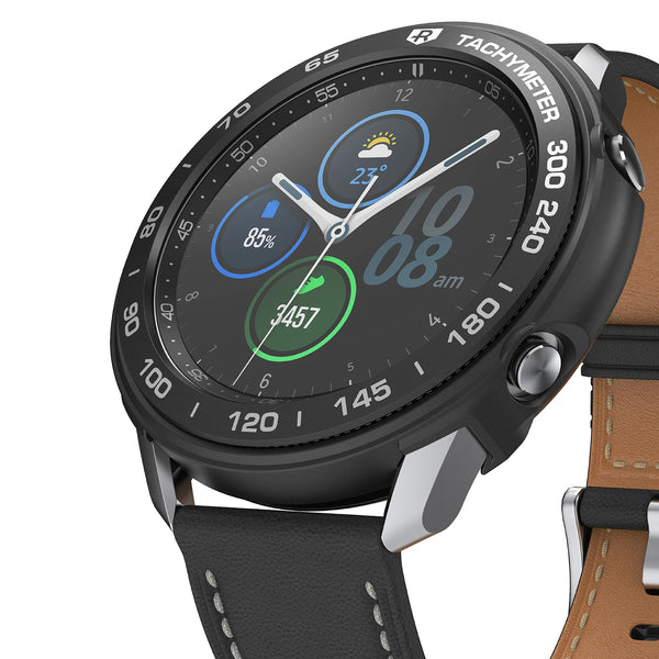 The black color air sports case for galaxy watch 3 from ringke make you stylish and manly, shop online now comes with free express shipping and local warranty.