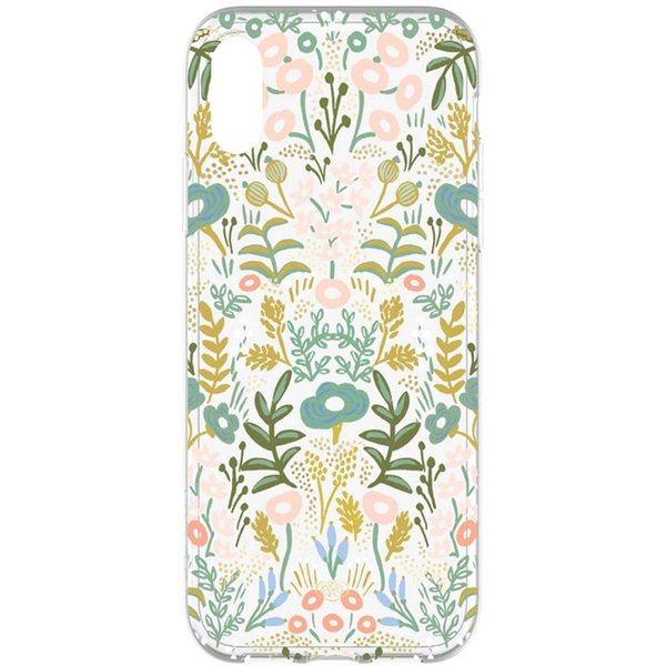 protective case for iphone xr with flower pattern from rifle paper co.