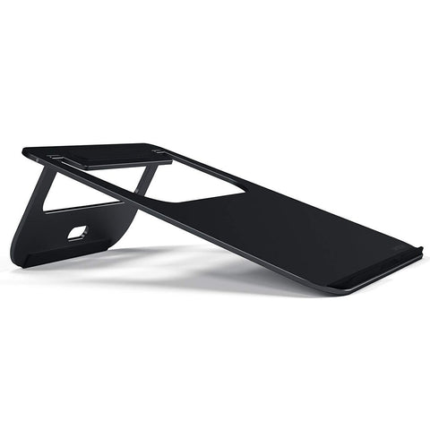 Get the latest stock SATECHI SATECHI ALUMINIUM PORTABLE LAPTOP STAND FOR MACBOOK MATTE BLACK COLOUR free shipping & afterpay.