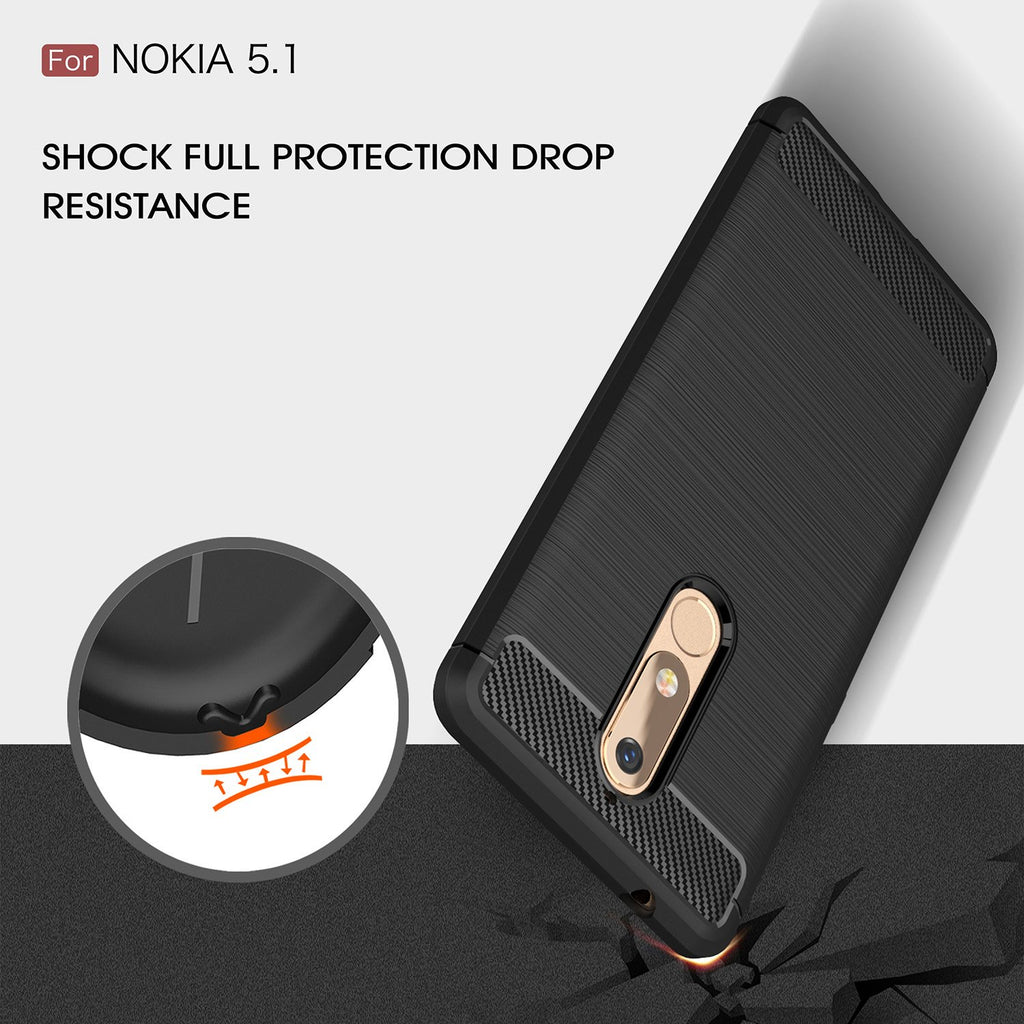 Shop Australia stock FLEXI BRUSHED TPU SLIM ARMOR CASE FOR NOKIA 5.1 - BLACK with free shipping online. Shop Flexi collections with afterpay Australia Stock