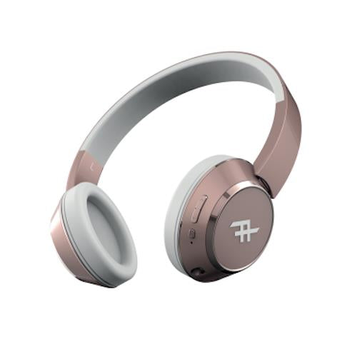ZAGG IFROGZ CODA BLUETOOTH WIRELESS HEADPHONE + MIC - ROSE GOLD