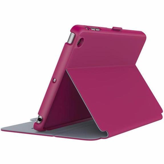 Place to buy from authorized distributor and official online store  Speck Style Folio Case for iPad Mini 4 - Pink/Grey. Free express shipping Australia wide on Syntricate.