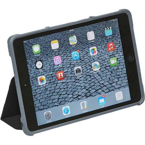 ipad mini 3 case from stm black colour. buy with free shipping at syntricate australia Australia Stock
