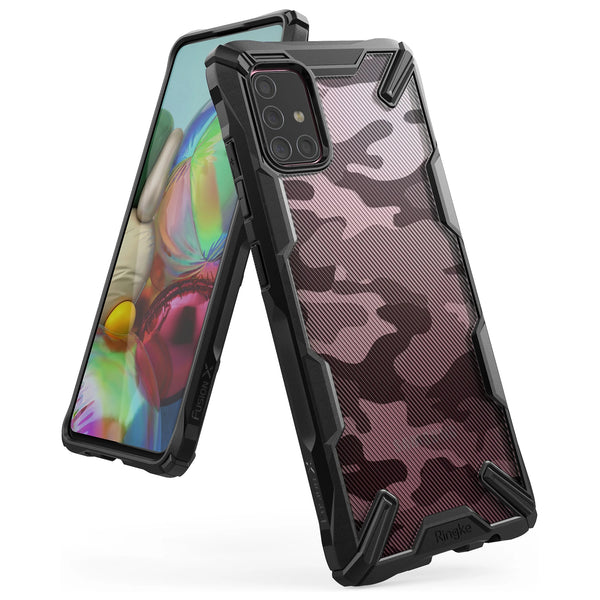 Shop Australia stock Ringke Fusion X Design Rugged Case For Galaxy A71 - Camo Black with free shipping online. Shop Ringke collections with afterpay