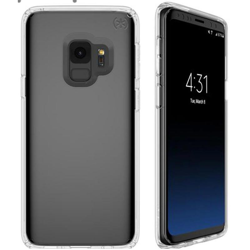 timeless design 94321 9ae99 SPECK PRESIDIO CLEAR IMPACTIUM CASE FOR GALAXY S9 - CLEAR