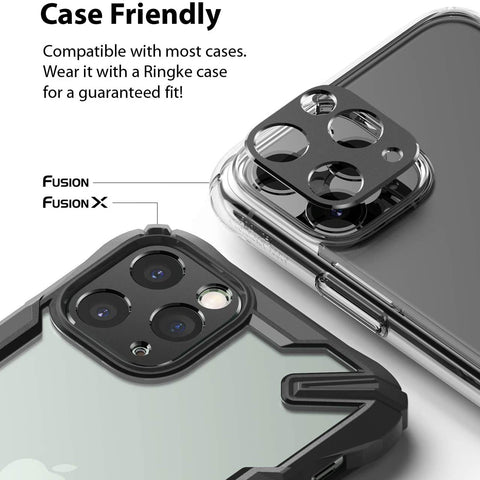 RINGKE Camera Styling Lens Screen Protector For iPhone 11 Pro / 11 Pro Max  - Black