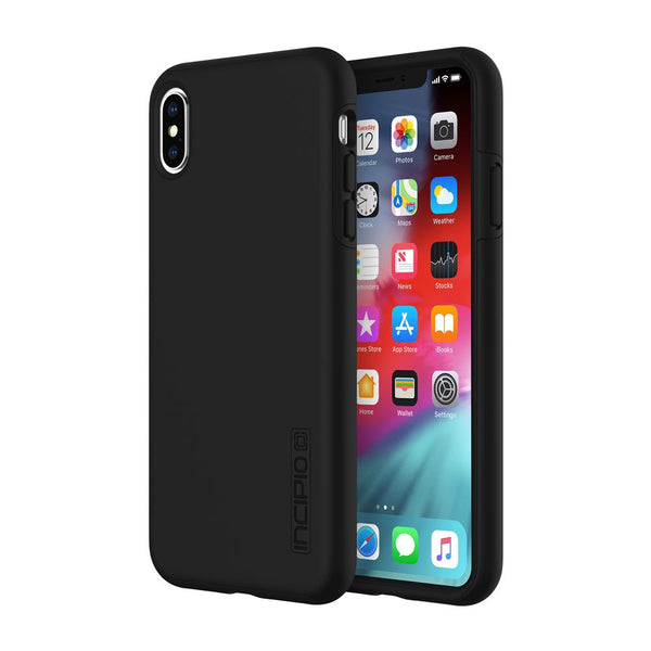 Shop iPhone XS Max Incipio Dual Layer Protective Case - black