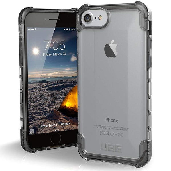 grey clear case for iphone 8 iphone 7 iphone 6s from uag australia