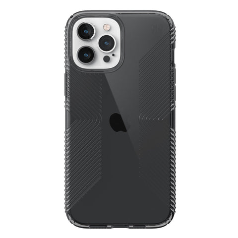 show off your new iphone 12 pro max with clear protective case grip patterned technology from speck australia