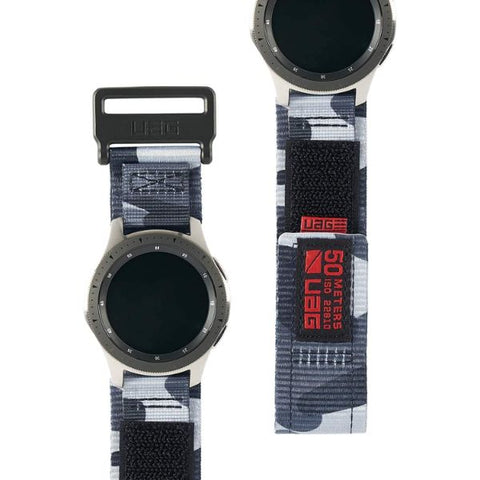 The new active band from UAG designed to make it strongest for galaxy watch with camo looks, shop online at syntricate and enjoy afterpay payment.