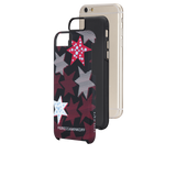 Shop Australia stock CaseMate Rebecca Minkoff Tough Print Case for iPhone 6/6S - Striped Red Stars with free shipping online. Shop Casemate collections with afterpay