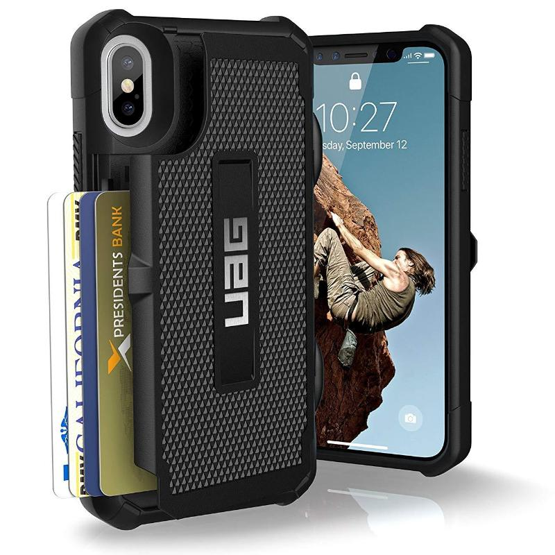 arrives 33399 59f4c UAG TROOPER RUGGED CARD CASE FOR iPHONE XS MAX - BLACK