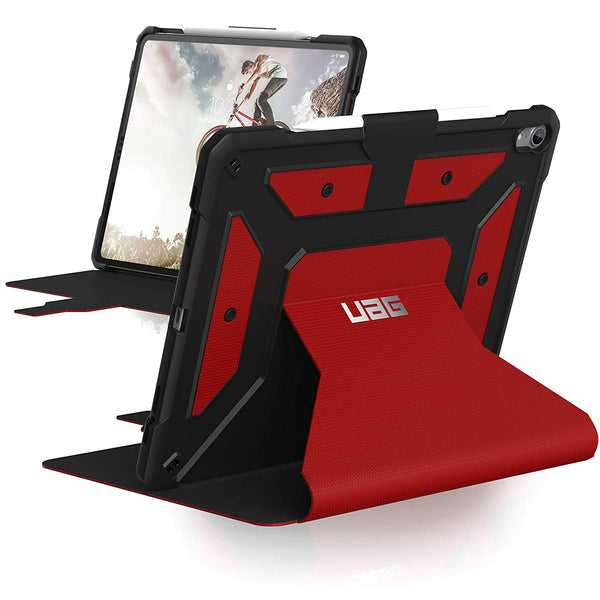 Shop Australia stock UAG METROPOLIS RUGGED FOLIO CASE FOR IPAD PRO 12.9-INCH (3RD GEN/2018) - MAGMA with free shipping online. Shop UAG collections with afterpay