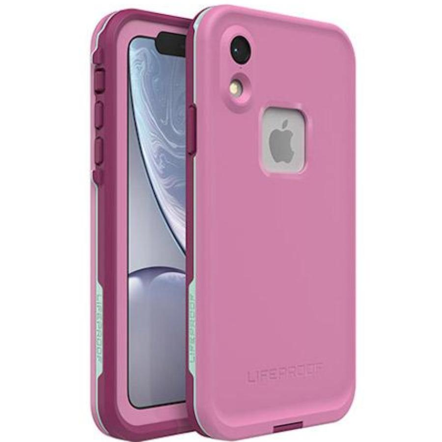 pink case for iphone xr fre waterproof case from lifeproof australia. buy genuine stock from lifeproof cases at syntricate Australia Stock