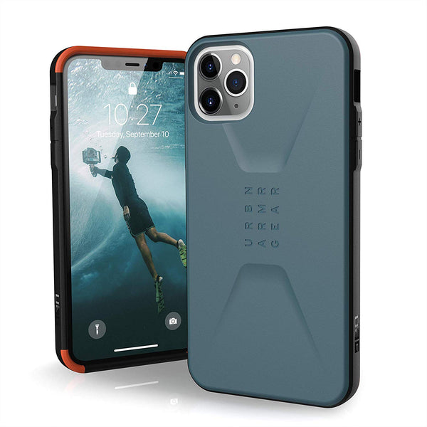 iphone 11 pro rugged outdoor case blue color. buy online with afterpay payment