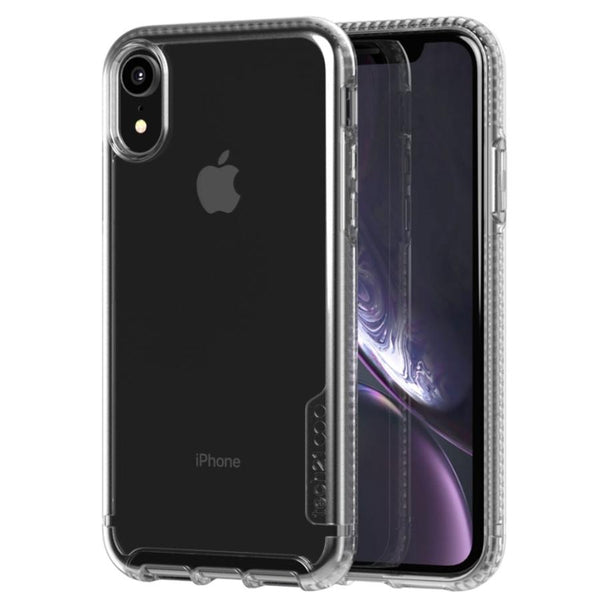 bulletshield case for iphone xr from tech21 with crystal clear and drop proof. shop and get free shipping only at syntricate.