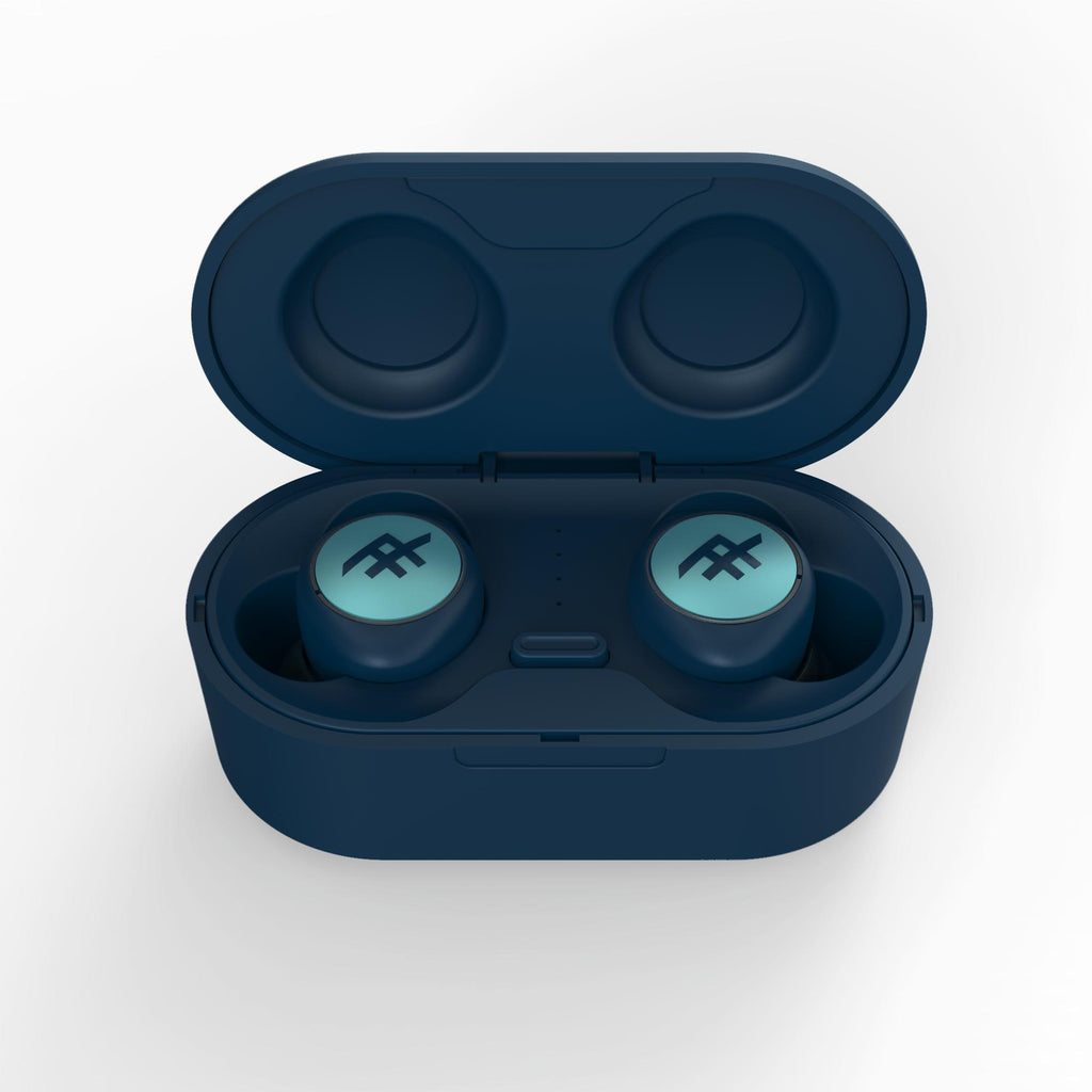 Shop Australia stock iFROGZ Airtime Truly Wireless Earbuds + Charging Case - Blue with free shipping online. Shop Zagg collections with afterpay Australia Stock