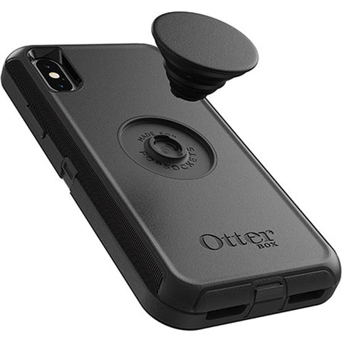 defender with otterpop case black colour for iphone x/xs