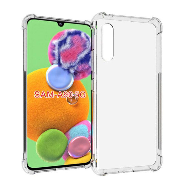 FLEXII GRAVITY Silcone Gel TPU Case For Galaxy A90 5G - Clear