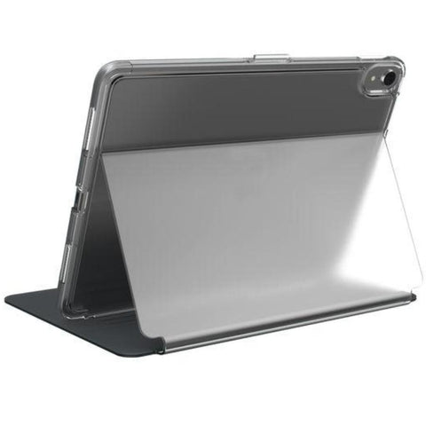 folio case for new ipad pro 11 (2018) from speck australia. black clear case with adjustable stand. buy online only at syntricate australia with free shipping australia wide.