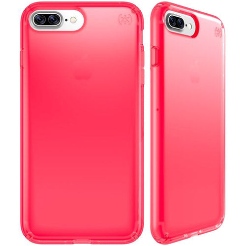 save off da541 98511 SPECK PRESIDIO CLEAR NEON CASE FOR iPHONE 8 PLUS/7 PLUS - SHOCKING PINK