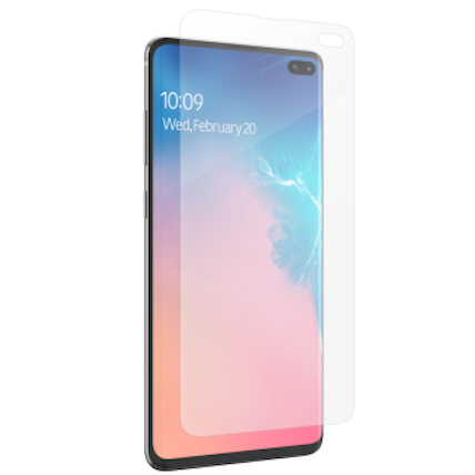 buy online galaxy s10 plus screen protector from zagg australia. buy online with afterpay payment