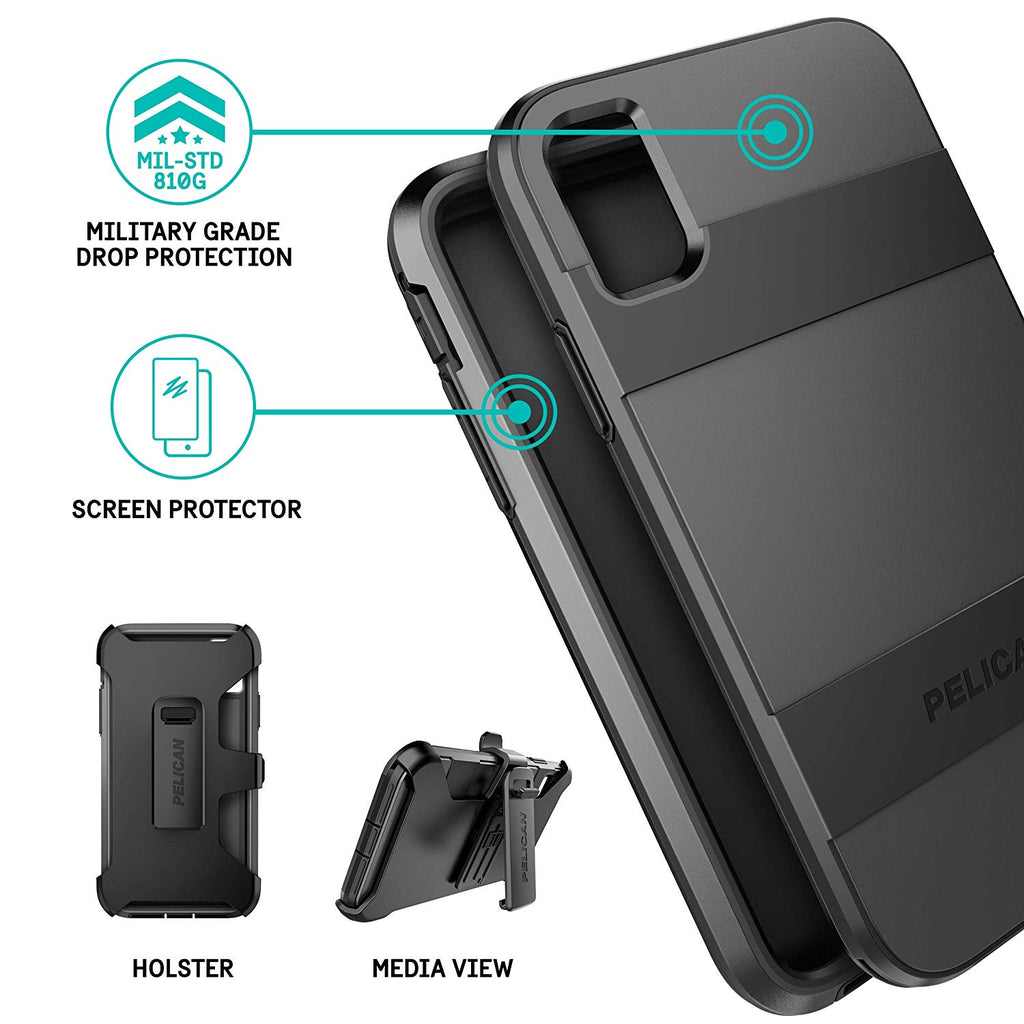 Shop Australia stock PELICAN VOYAGER CASE W/SCREEN PROTECTOR FOR IPHONE XR - BLACK with free shipping online. Shop Pelican collections with afterpay Australia Stock