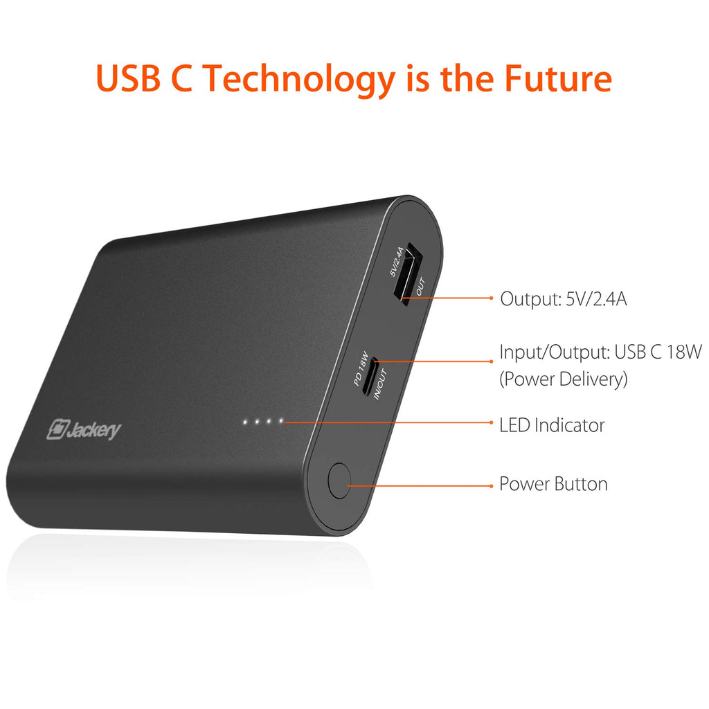 Shop Australia stock JACKERY FORCE 260 PD 10000mAH USB C 18W POWER BANK - BLACK with free shipping online. Shop Jackery collections with afterpay Australia Stock