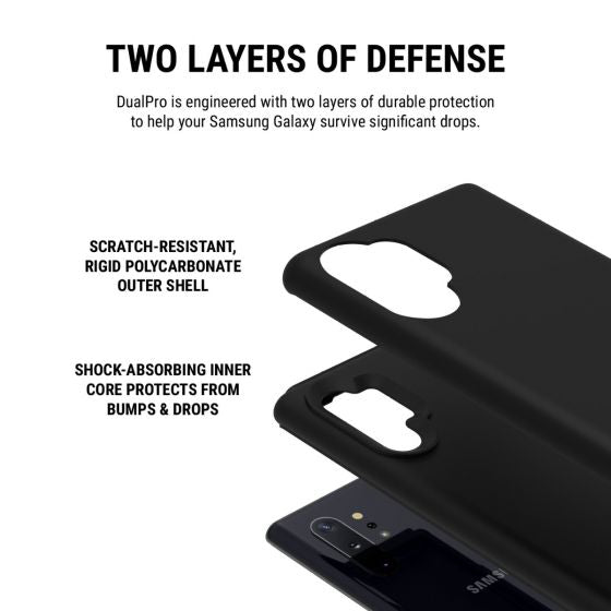 Shop Australia stock INCIPIO DUALPRO CASE FOR GALAXY NOTE 10 PLUS/NOTE 10 PLUS 5G (6.8-INCH) -BLACK with free shipping online. Shop Incipio collections with afterpay Australia Stock