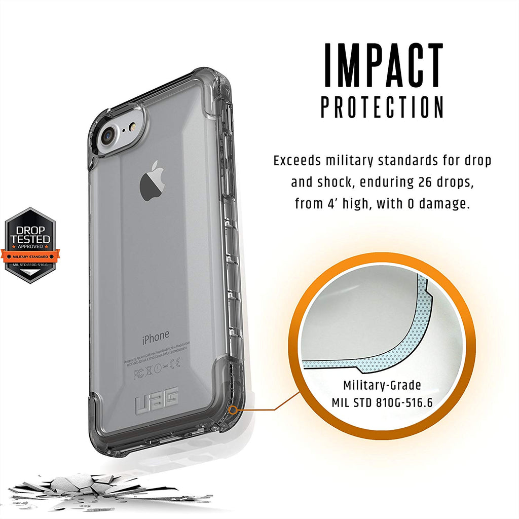 UAG PLYO ARMOR SHELL CASE FOR IPHONE 8/7/6S - ICE Australia Stock
