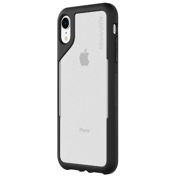 GRIFFIN SURVIVOR ENDURANCE CASE FOR IPHONE XR - BLACK/GRAY Australia Stock