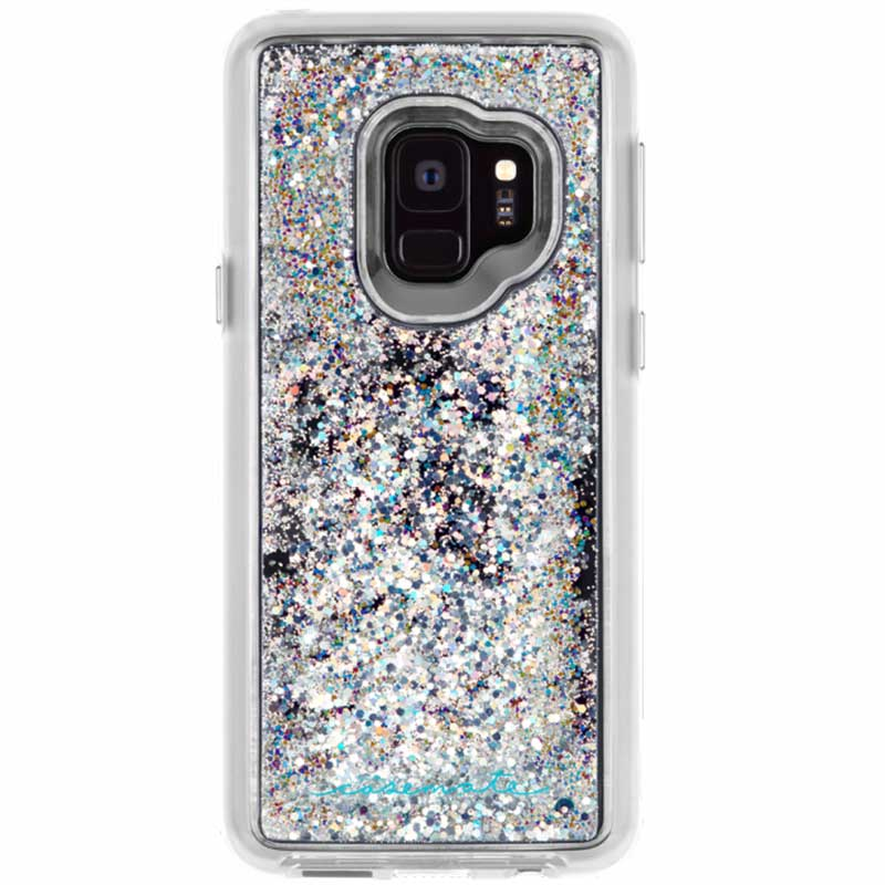 new and genuine Casemate Waterfall Sparkle Glitter Case Samsung Galaxy S9 Iridescent Australia Stock
