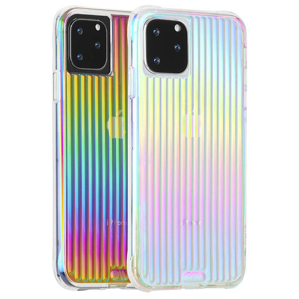 stylish rainbow iphone 11 pro case from casemate. multi tone color with fancy look