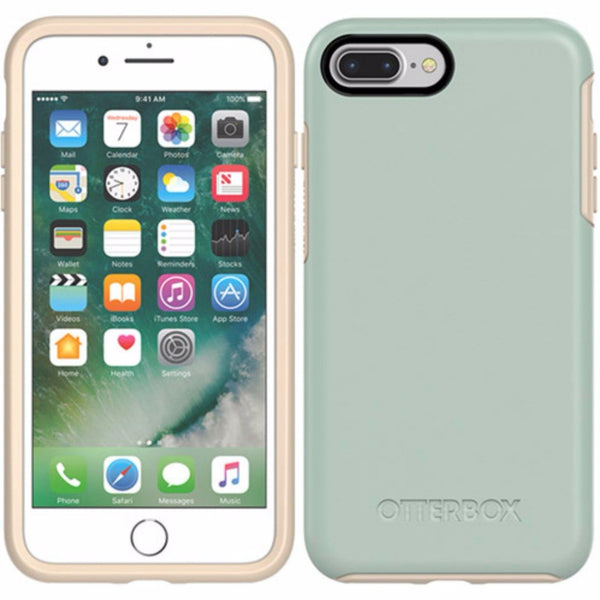 buy online from authorized distributor OtterBox Symmetry Sleek Stylish Case for iPhone 8 Plus/7 Plus - Muted Waters australia