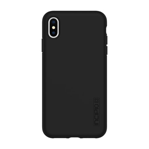 Back clean Incipio Dualpro series Black for iPhone Xs & iPhone X