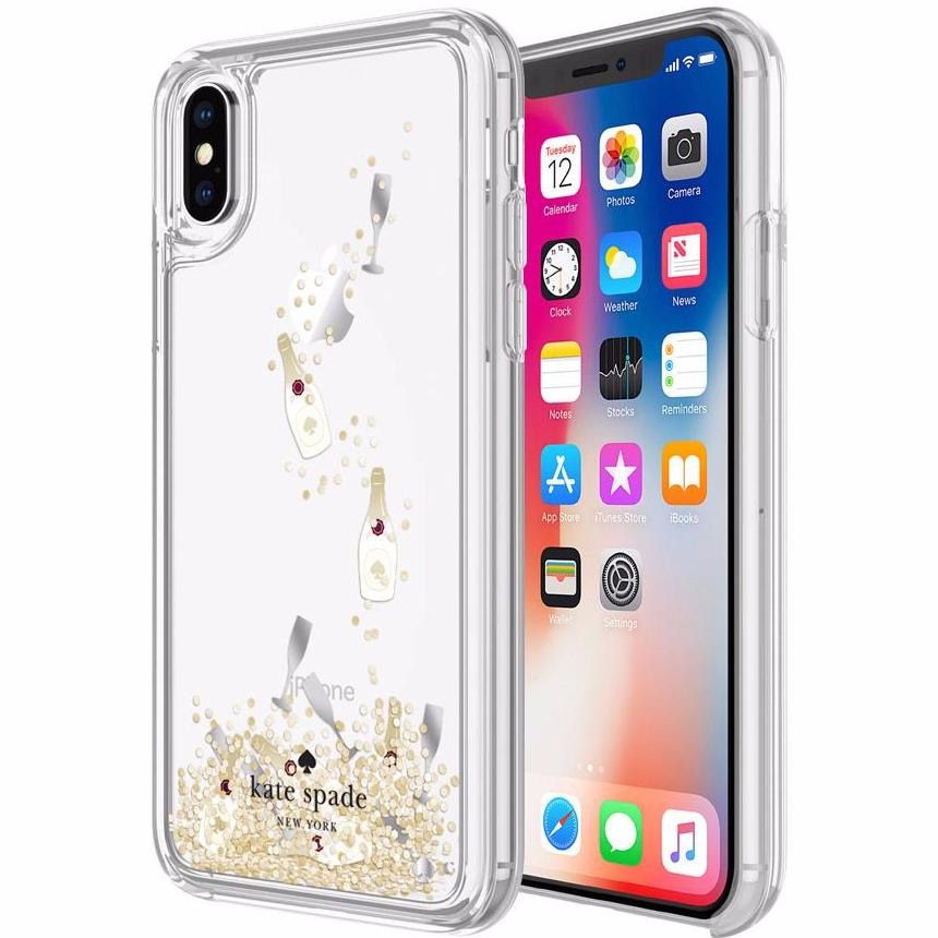 Place to buy the most wanted and must have item from Kate Spade New York Liquid Glitter Case For Iphone X - Champagne (Champagne Bottle And Glass / Gold Glitter). Free express shipping Australia wide from authorized distributor and trusted official online store Syntricate. Australia Stock