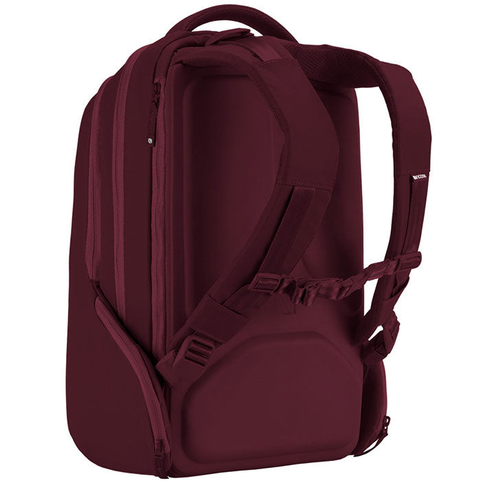 trusted online store incase icon backpack bag for macbook, tab, ipad, tablet, notebook, laptop, netbook, deep red Colour australia Australia Stock