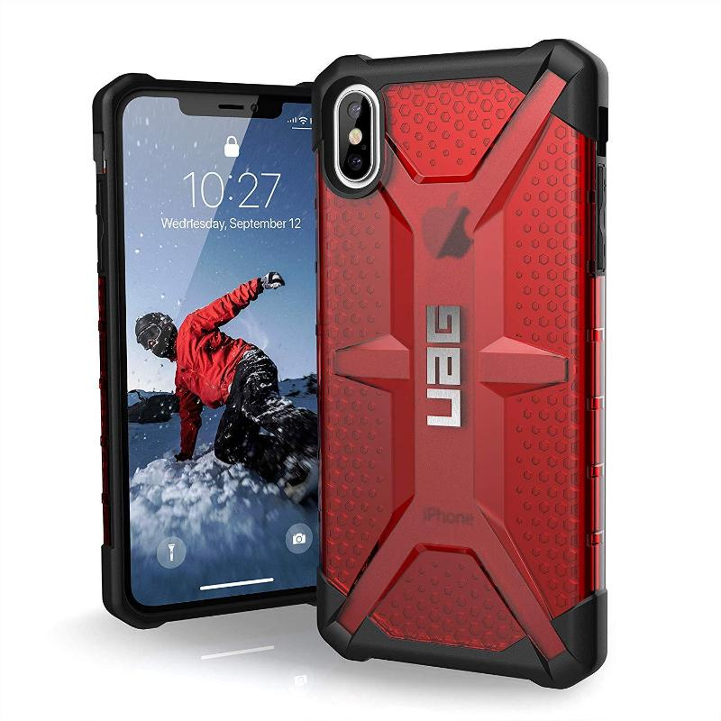 Buy online the new Urban Armour Gear red case for iPhone XS max with free shipping Australia Stock
