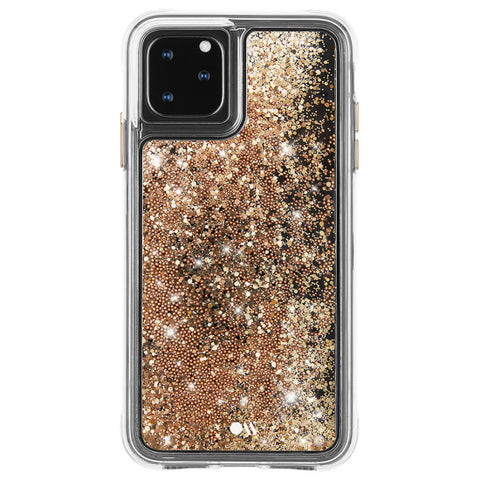 one piece design glitter gold from casemate iphone 11 pro