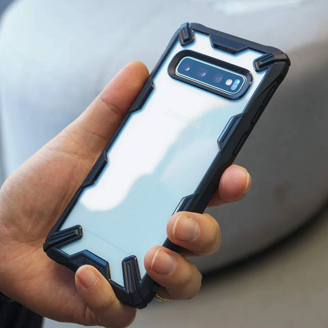 Ringke Fusion X Rugged Case For Galaxy S10 5G - Black