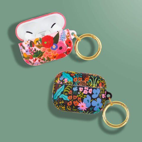 Buy new case for airpods pro with floral design with various color from Rifle paper co now comes with free express shipping. stay protected and safe.