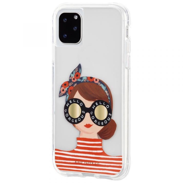 "Shop Australia stock CASEMATE Rifle Paper Co Designer Case for iPhone 11 Pro (5.8"") - Gorgeous Girl with free shipping online. Shop Casemate collections with afterpay Australia Stock"