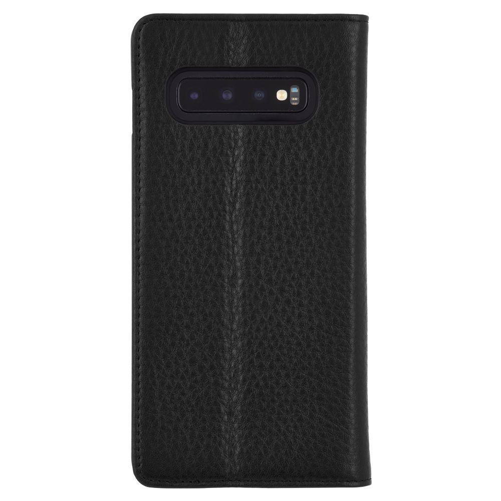 buy online leather folio case for new samsung galaxy s10+ Australia Stock