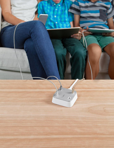 Shop Australia stock Belkin Family Rockstar Wall-Mountable 4-Port USB Desktop Charging Station with free shipping online. Shop Belkin collections with afterpay