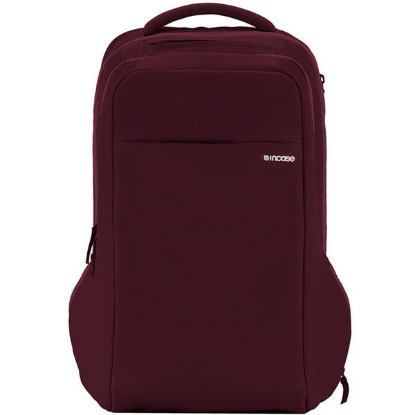 online store incase icon backpack bag for macbook, tab, ipad, tablet, notebook, laptop, netbook, deep red australia