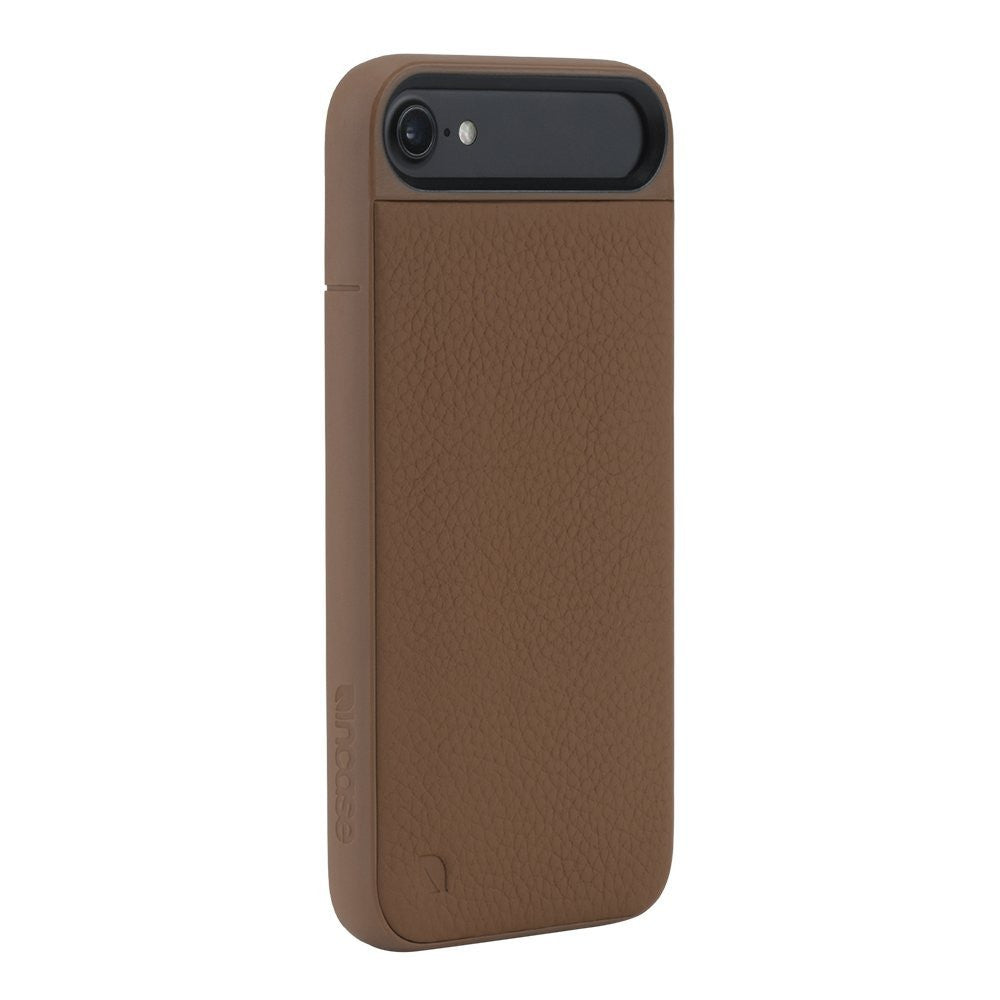 Place to buy genuine Incase Icon II Pebbled Leather TENSAERLITE Case for iPhone 8/iPhone 7 - Brown colour. Free express shipping Australia wide only on Syntricate. Australia Stock