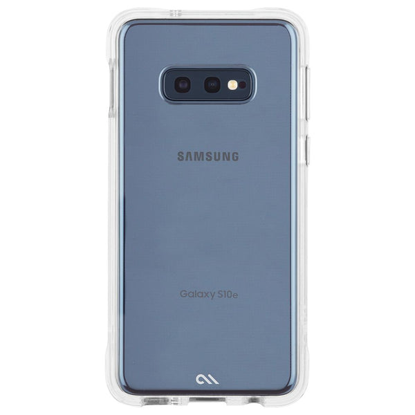 Strong transparent case for samsung galaxy s10e. Clear with high quality australia standard case from casemate