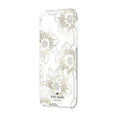 clear case with flower pattern for iphone xr from kate spade. buy online and get free shipping australia wide